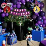 Fortnite Video Game Theme Decoration Combo Happy Birthday Banner Balloon Swirl Pom Pom Set 39pcs For Boys Birthday Party Supplies Party Propz Online Party Supply And Birthday Decoration Product Store