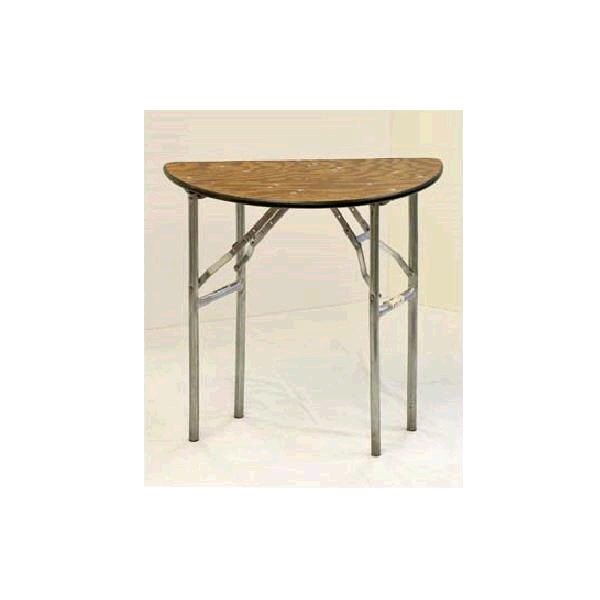 A Picture Of Half Round Table From A Party Rental Company In North Randall, OH - Party Safari