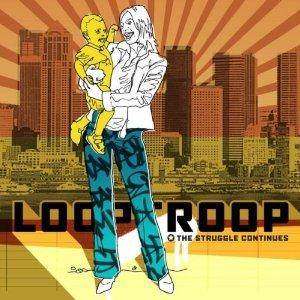 cover des loop troop albums The Struggle continues auf heart records aus schweden Release 28.10.2002