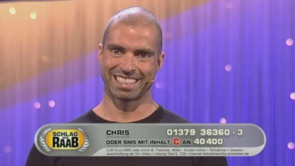 Chris Liebing wollte Stefan Raab schlagen?