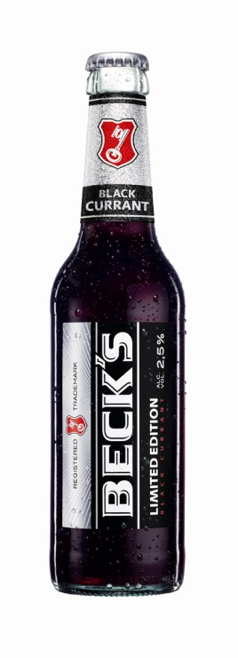 BECKS Flasch Black Currant