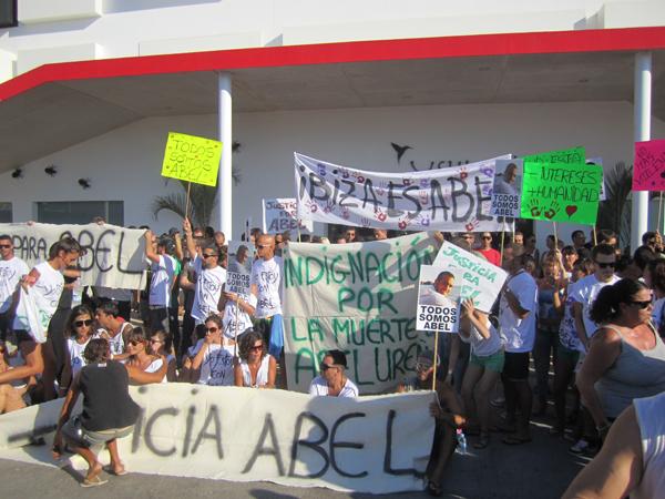 demonstration abel ushuaia