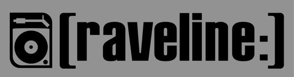 Raveline Logo. Magazin für elektronische Musik