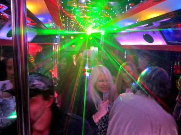 Ibiza Disco Bus