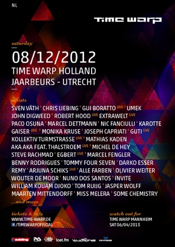 Time Warp Holland 2012