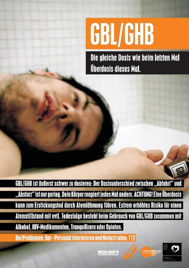 GHB + Alkohol = Tatütata. Alles über die Droge GHB