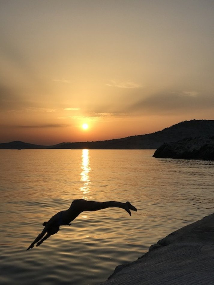 Sunset Yoga - Obonjan Island Cratia 2017