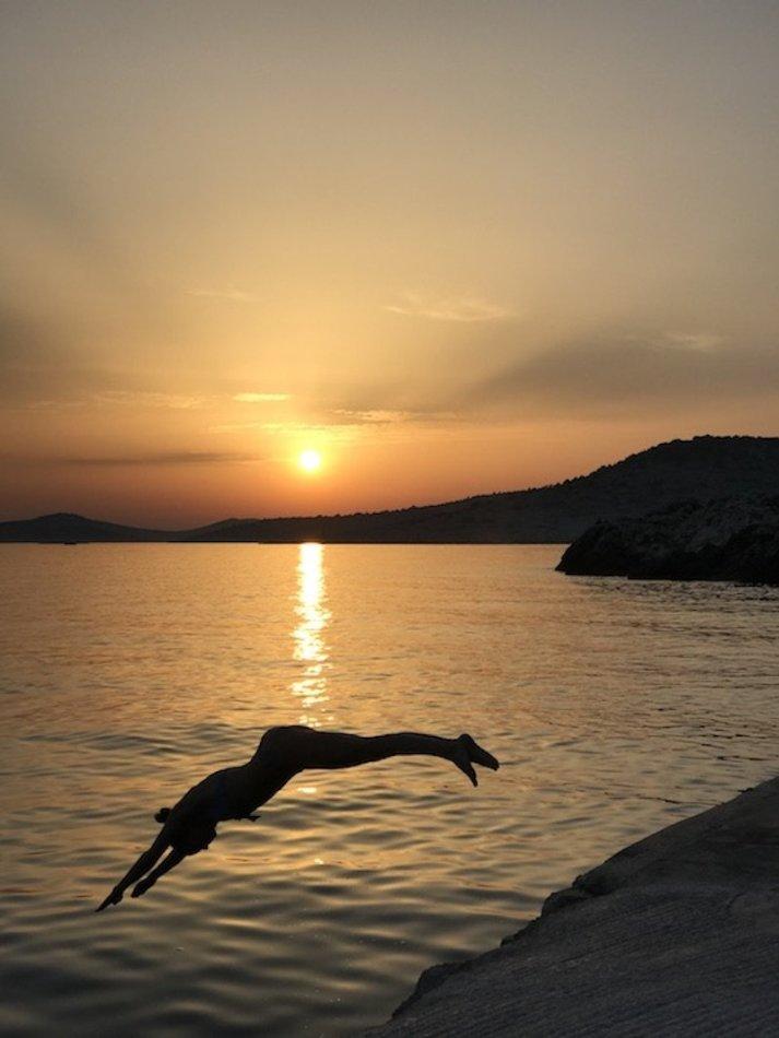 Sunset Yoga - Obonjan Island Cratia 2017