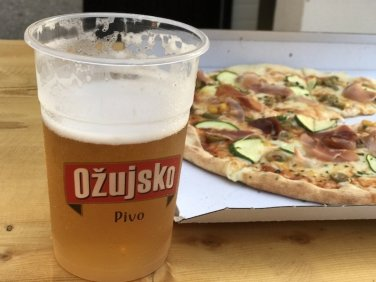 Beer & Pizza - Obonjan Island Cratia 2017