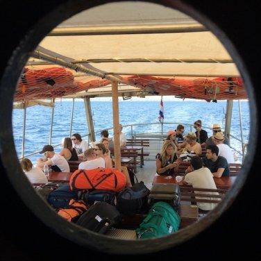 Ferry to Obonjan Island Cratia 2017