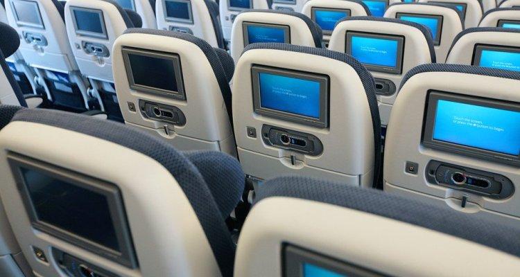 Deeper Sounds Radio Show - In-Flight Entertainment British Airways - Entertainment in the World Traveller cabin - Photo credit: British Airways - New World Traveller on board the new Boeing 777-300ER, BAMC, Cardiff, UK, 12 August 2010
