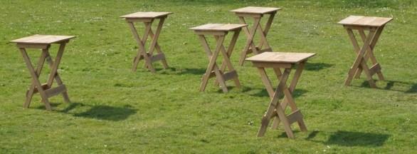 Statafels woody-line