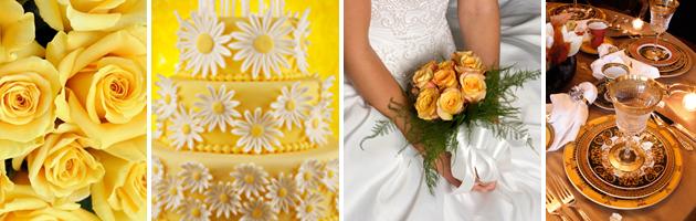 Lemon Zest and Sunflower Wedding Ideas