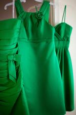Kelly Green Bridesmaid Dresses