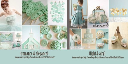 2013 spring wedding color trends grayed jade mint