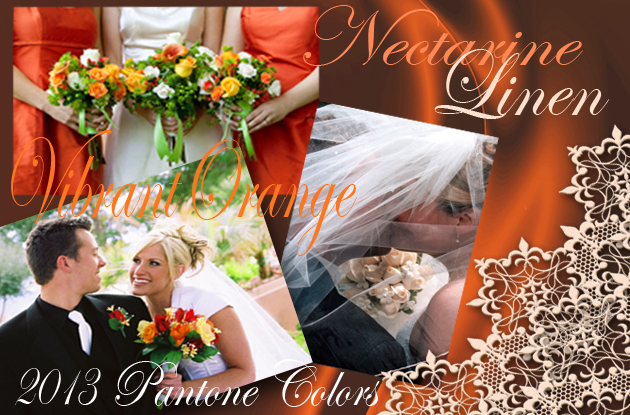 2013 Orange Wedding Trends by Party Simplicity