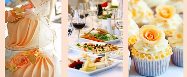 Orange wedding food ideas on party simplicity