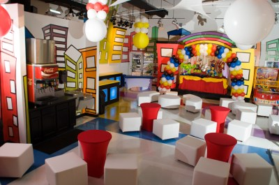 Fun kid's party location minitownparty.com