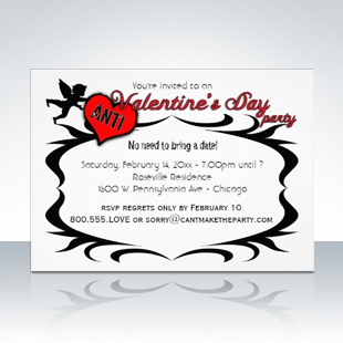 Popular Anti-Valentine's Day Party Singles Invitations