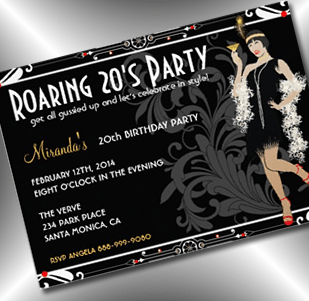 Party Simplicity roaring 20s party theme ideas