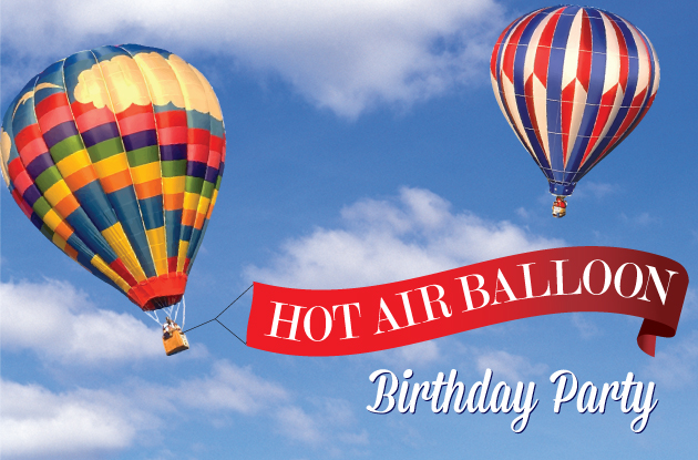Hot Air Balloon Header