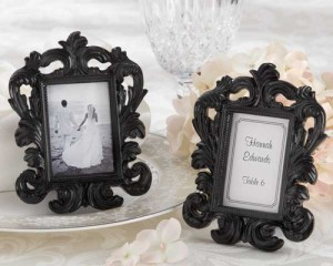 Mini baroque picture frame for party favors