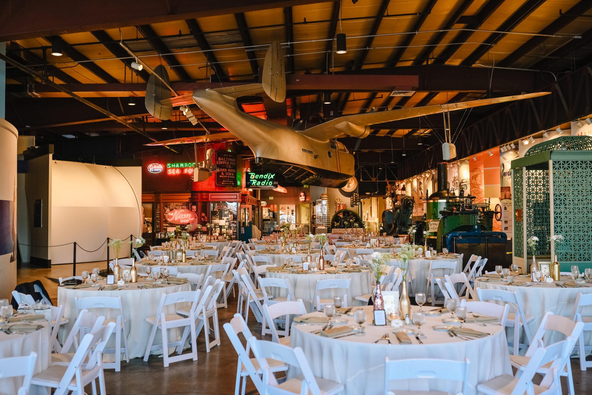 Baltimore Museum Of Industry Wedding Venue In Baltimore