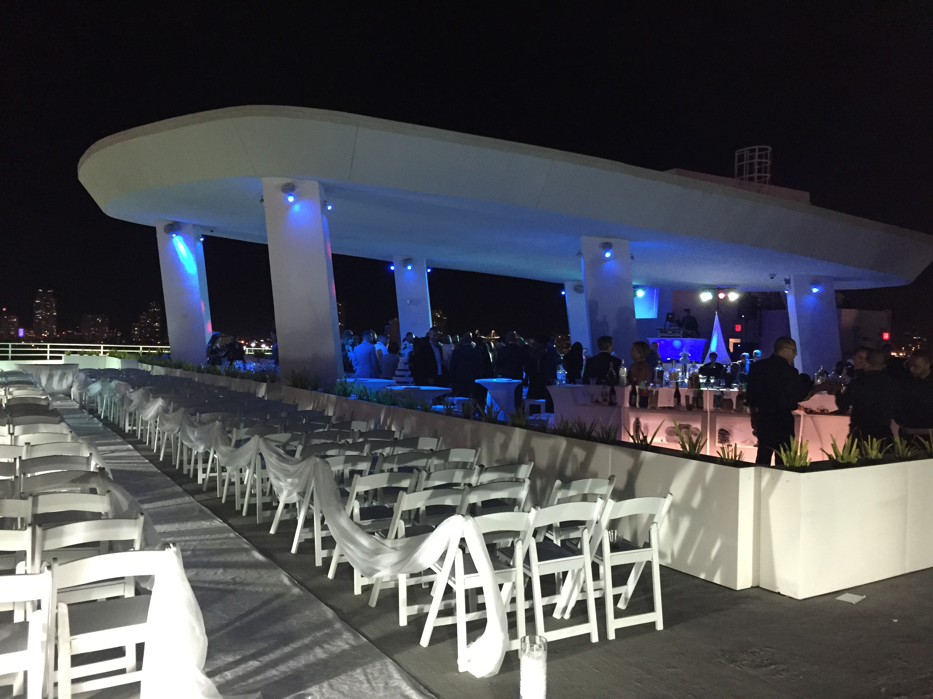 Skydeck Wedding Venue In South Florida Partyspace