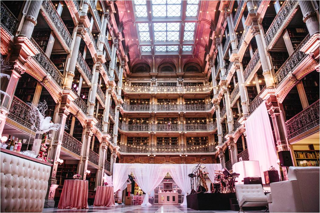 The George Peabody Library Wedding Venue In Baltimore Partyspace