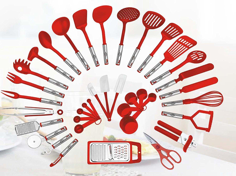 38 Piece Kitchen Utensils Set Home Cooking Tools Gadgets