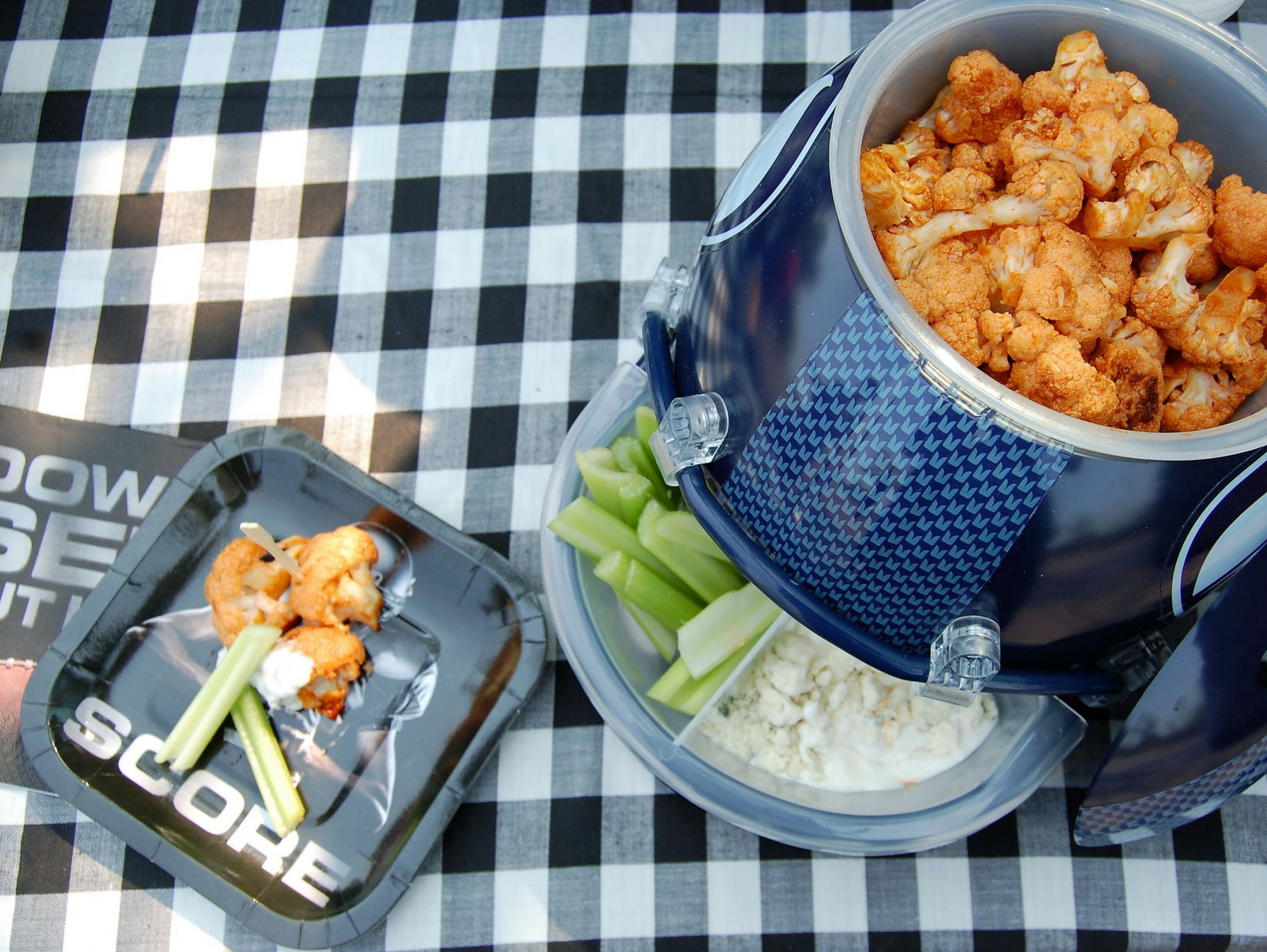 Buffalo Cauliflower Bites - Half Hero