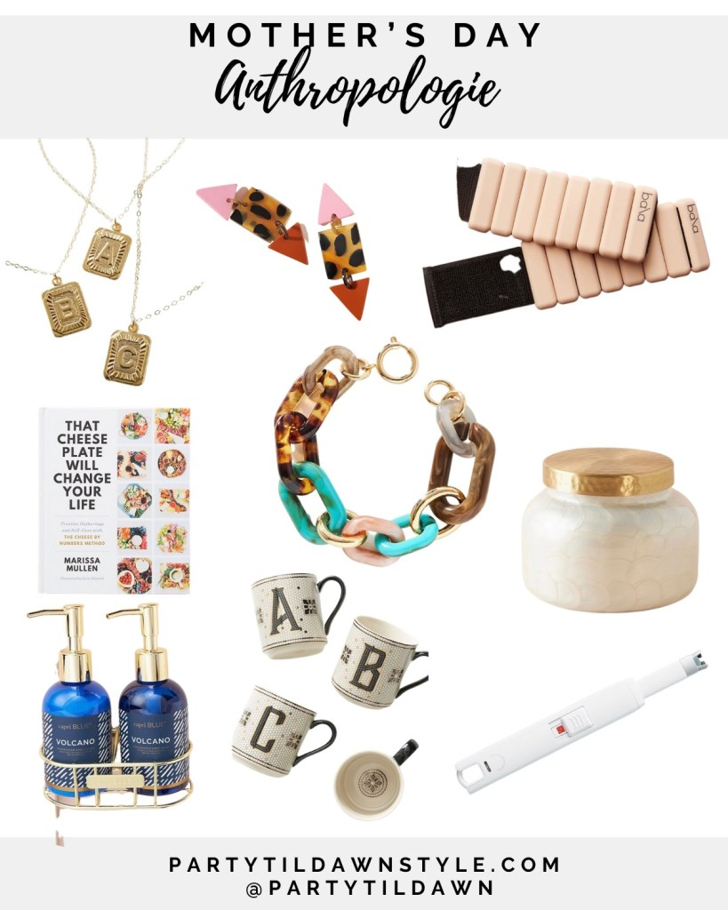 Mother's Day gift guide Anthropologie