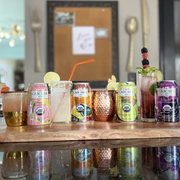 Four Summer Cocktails with Cascade Ice Sparkling Waters and a GIVEAWAY!