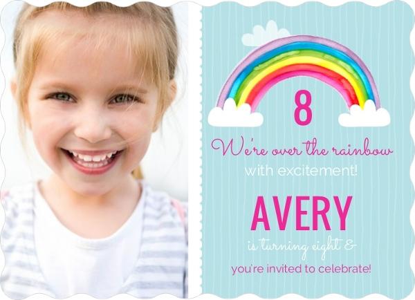 kids birthday invitations custom from