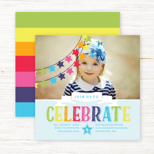 Some of them even go beyond a card in an envelope! Kids Birthday Party Invitations From Purpletrail