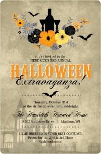 halloween party invite wording ideas