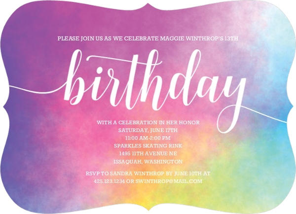 teen birthday party ideas from purpletrail