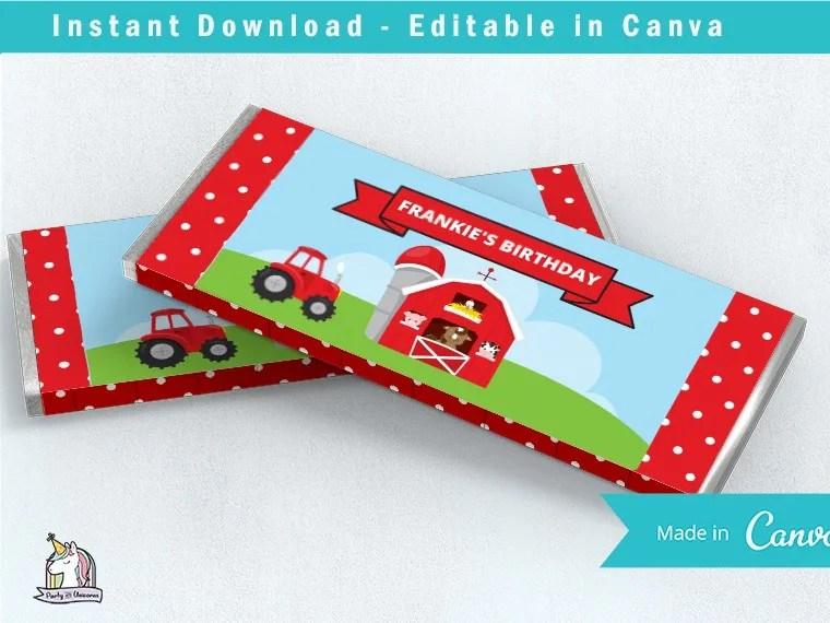farm party printables free download