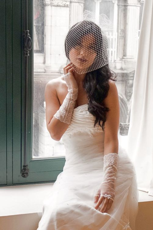 Carla_Stylish Couture Bridal Gloves in Lace