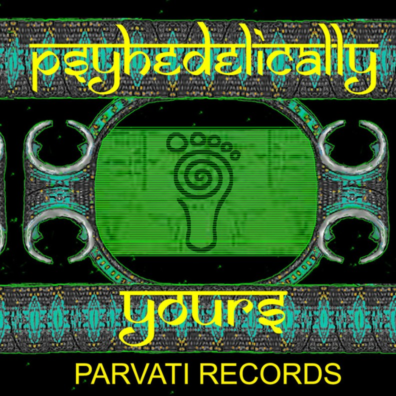 va - Psychedelically Yours - prvcd02 front cover