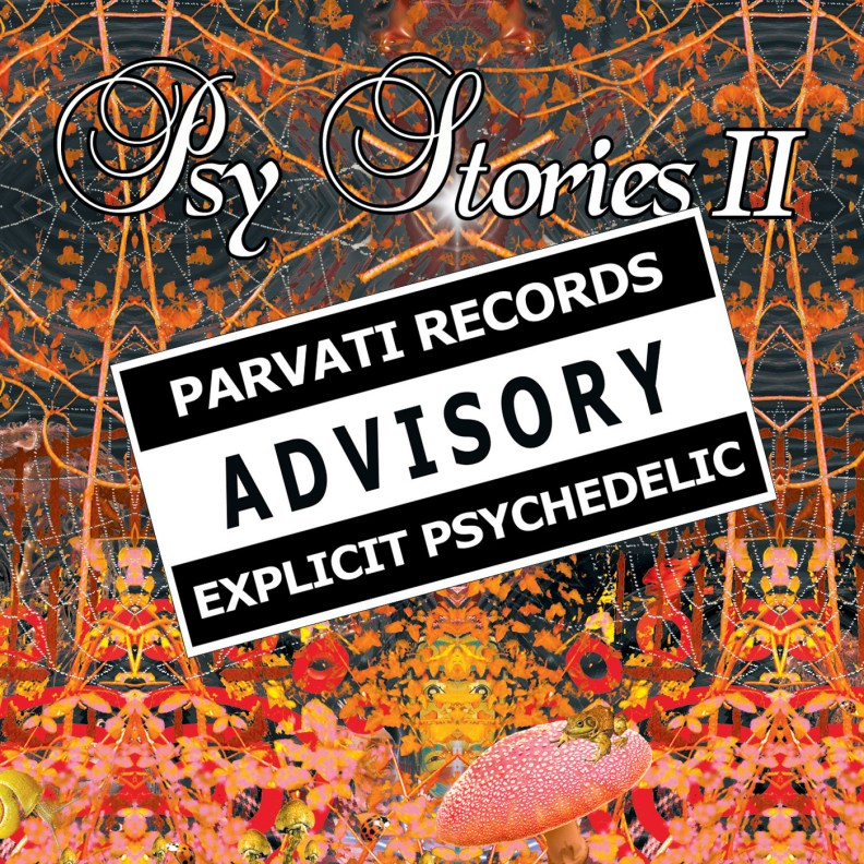 va - Psy Stories II - prvcd12 - front cover