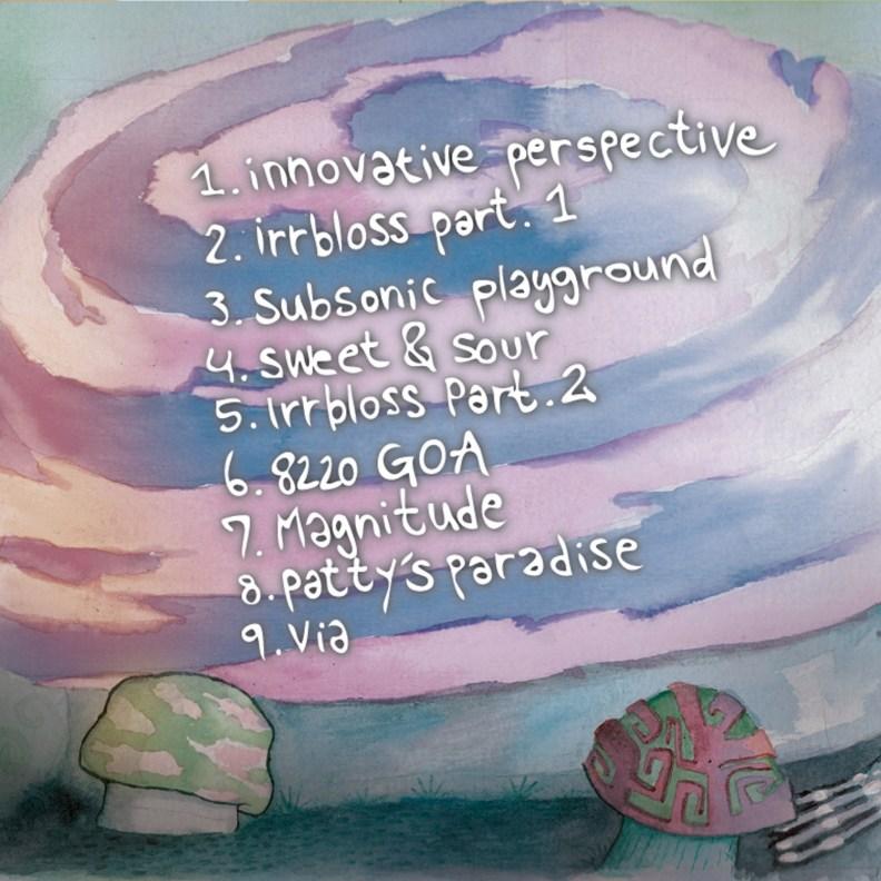 Split Album - Psilo Cowboys, Derango & Maniac Bubbles - No Strings Attached - prvcd15 - back cover