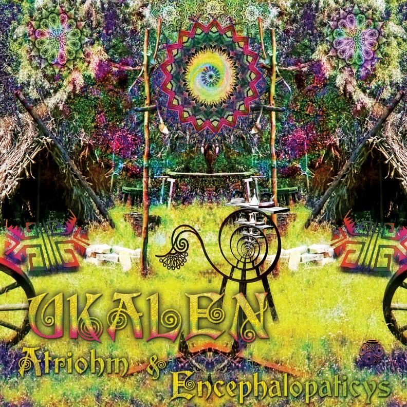 Split Album - Atriohm & Encephalopaticys - Ukalen - prvcd17 - front cover