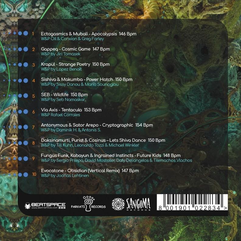 va - Bubble Universe - prvsangcd01 - front cover