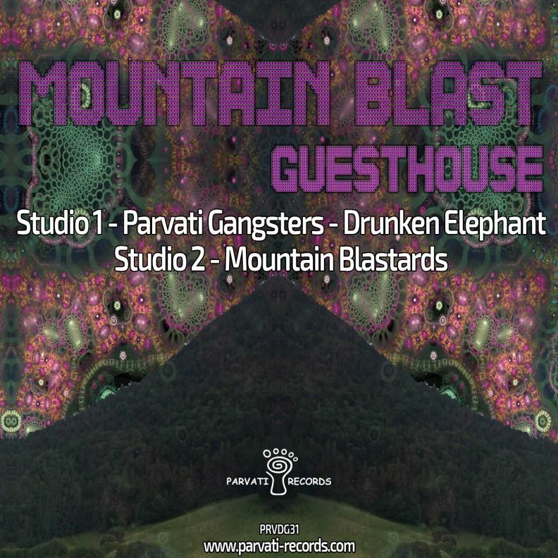 va - Mountain Blast - prvdg31 - Front cover