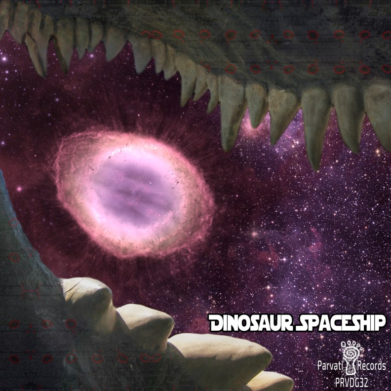 Dinosaour Spaceship - prvdg32 - front cover