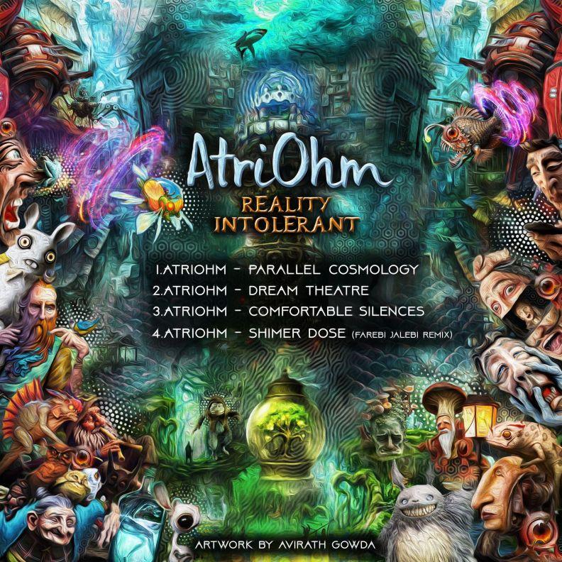 Atriohm - Reality Intolerant - prvep33 - back cover