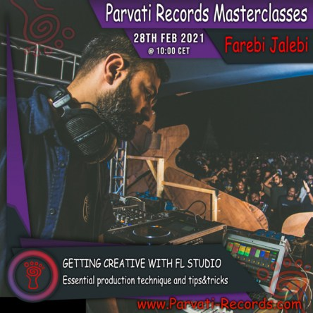 Parvati Records Masterclass: Farebi Jalebi