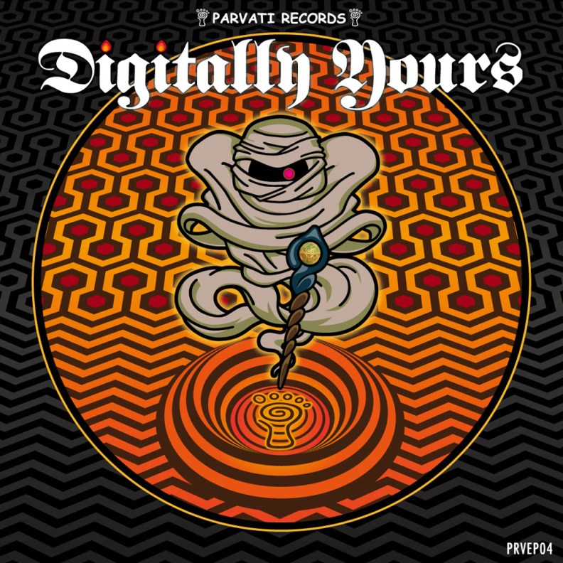 va - Digitally Yours - prvep04 - front cover
