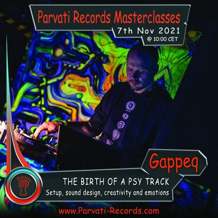 Parvati Masterclass with Gappeq - featured image